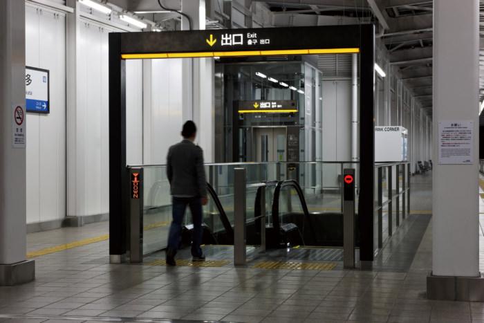 降車系ゲートサイン
