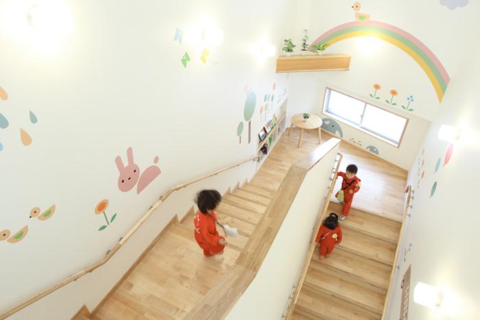 階段にあるたまり空間