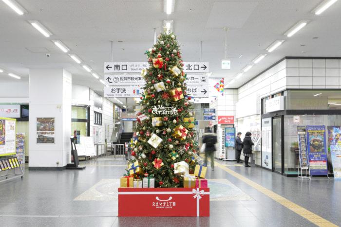 クリスマスツリー全体 裏