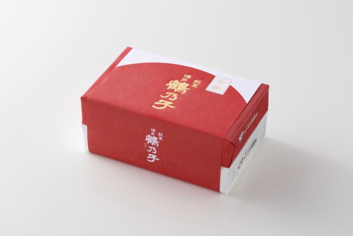 紅白小ぶり鶴乃子「令和」オリジナル掛け紙